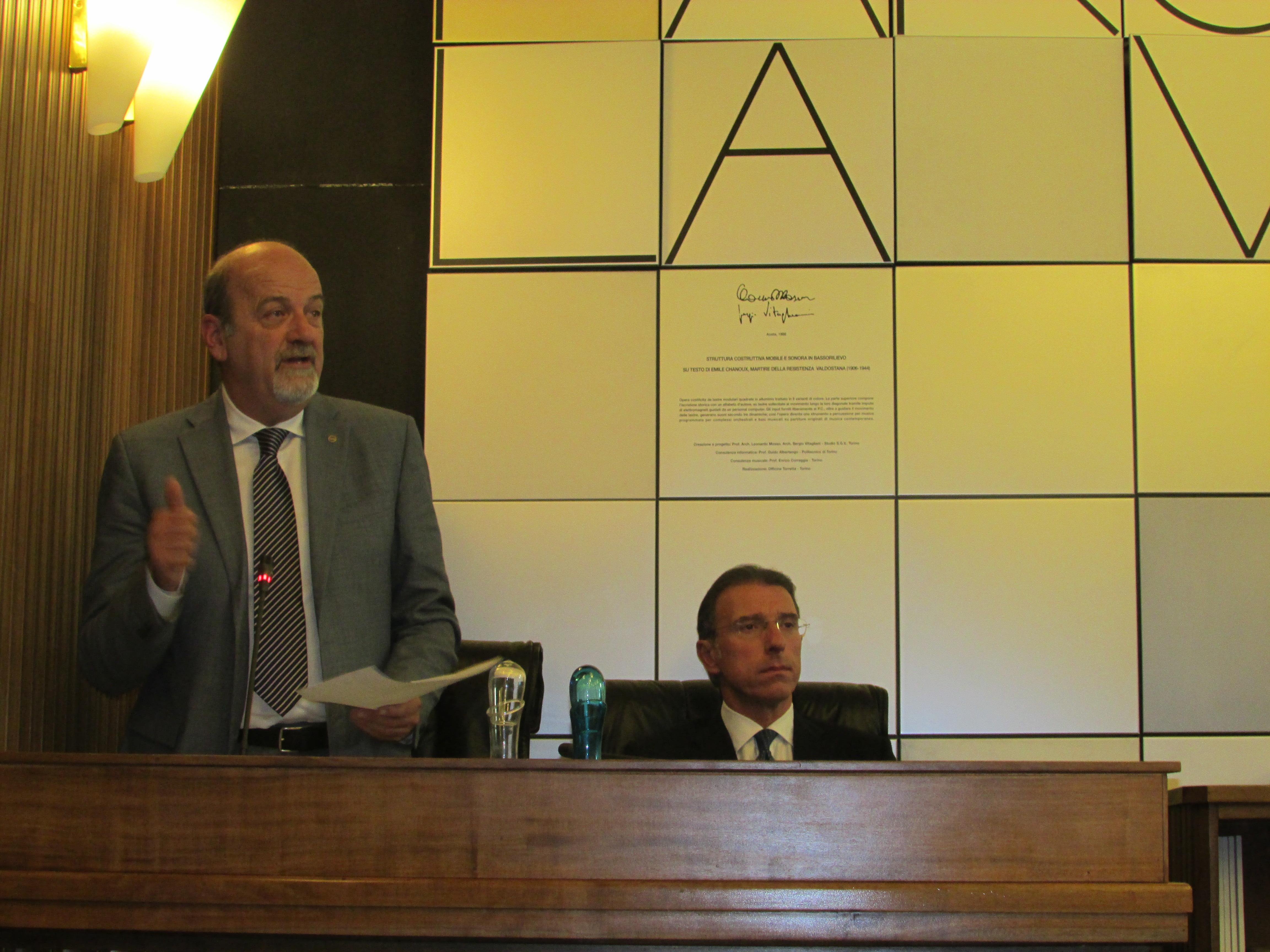 Ultime Notizie: COSTITUZIONE: Dibattito in Consiglio Valle; gli interventi dei Parlamentari Lanièce e Marguerettaz