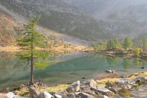 MONTAGNA VDA: Il Lago di Pietra Rossa (Morgex)