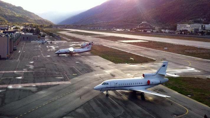 Aeroporto Aosta : A rischio fallimento la società che gestisce l aeroporto