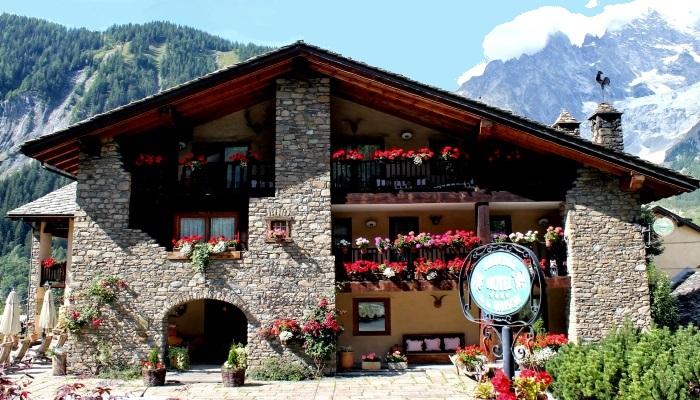 Per trivago l 39 auberge de la maison miglior hotel 4 stelle for Auberge de la maison courmayeur