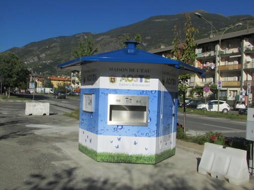 Aosta: Prelievi gratuiti dalle 'casette dell'acqua' venerdì 22 marzo