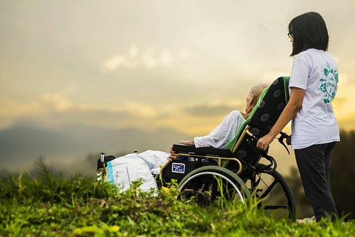Disabilité, balades en plein air à découverte nature