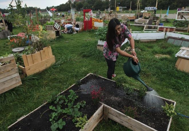 Agricoltura la fiera lo courti a donnas ha fatto il - Giardini di montagna foto ...