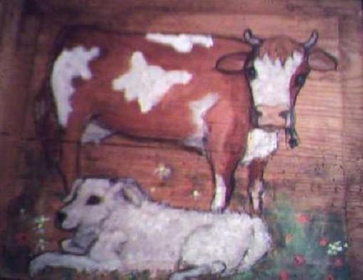 Un'opera di Lydia Brunod