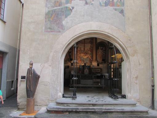 La ex cappella di San Grato ad Aosta, sede espositiva