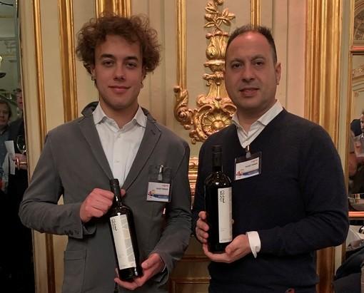 Angelo Sarica (dx) con il collega delle Distilerie St-Roch Nicolas Bovard