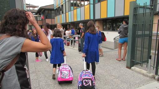 Ingresso a scuola (foto di repertorio)
