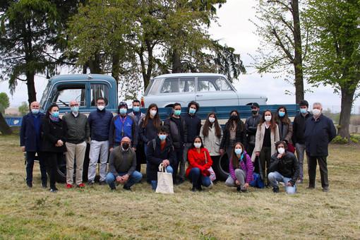 Studenti in visita al Gruppo Marazzato per creare un polo d'interesse annuale sui mezzi storici