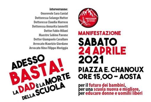 'La Dad è la morte della scuola', manifestazione in piazza sabato 24 aprile