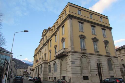 Il Palazzo di Giustizia di Aosta