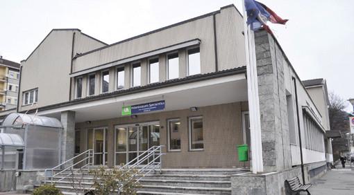 La sede dell'Usl in via Rey ad Aosta