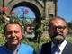 Da sinistra Andrea Balducci, avv.to di Aosta capolista alle elezioni regionali e Giovanni Girardini, imprenditore, Presidente di Rinascimento Valle d'Aosta e Candidato sindaco del Capoluogo