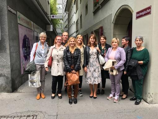 Organisatrices et délégations Frioul-VJ et VdA