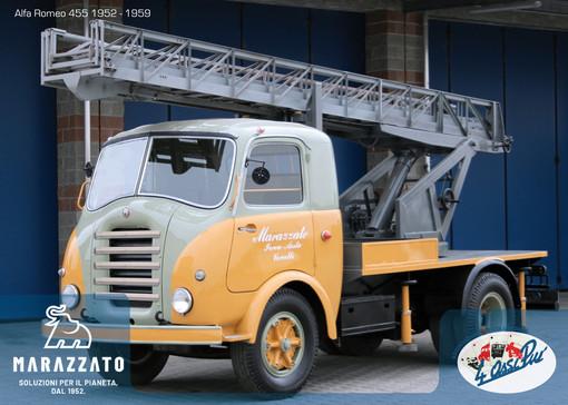 La 'Collezione Marazzato' presenta il camion storico 'Alfa Romeo 455'