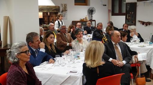 Ospiti a un incontro del Circolo della Stampa