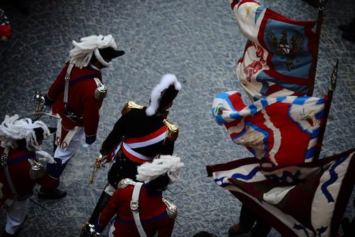 Carnevale Ivrea: Alberto Tosin, Riccardo Paglia e Massimo Lova indosseranno le braje bianche per il secondo anno consecutivo