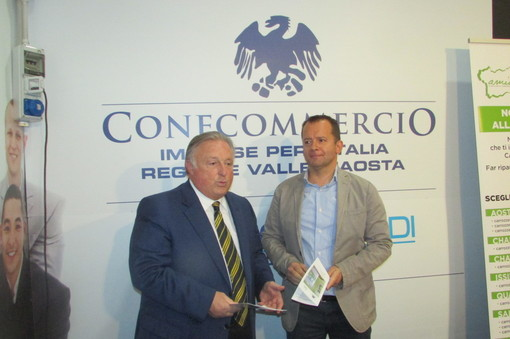 Graziano Dominidiato e Adriano Valieri