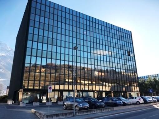 La sede della Chambre in regione Borgnalle ad Aosta