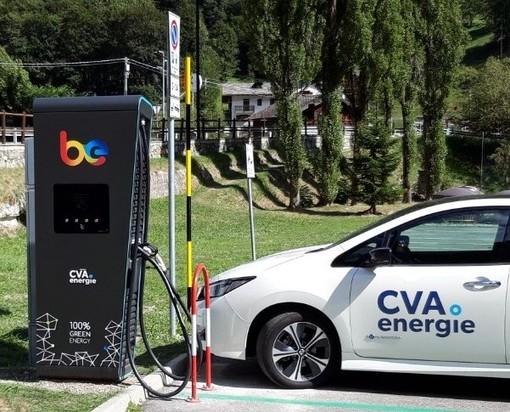 CVA Energie attiva nuove colonnine di ricarica