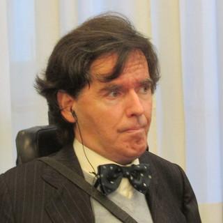 Il Presidente del Consiglio Valle, Alberto Bertin