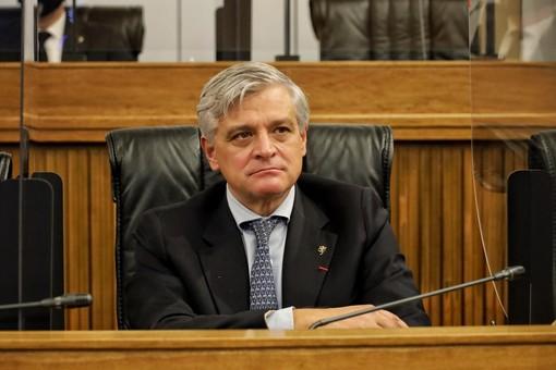 L'assessore Luciano Caveri