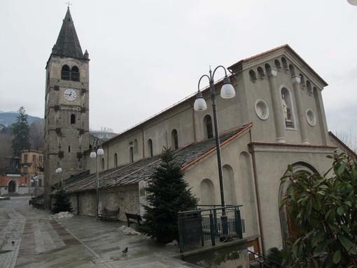 La chiesa parrocchiale di Saint-Vincent (foto da Cenacolo Italo Mus)