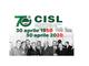 La Cisl compie settant'anni anche Cisl VdA festeggia