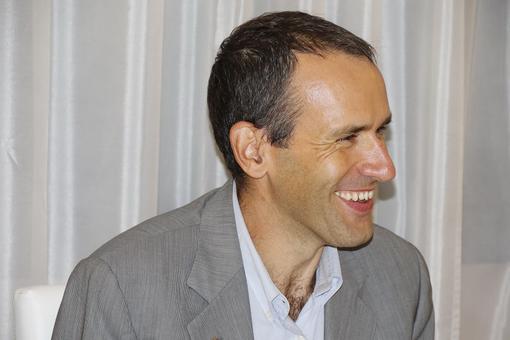 Xavier Cesal Presidente Rotary Club