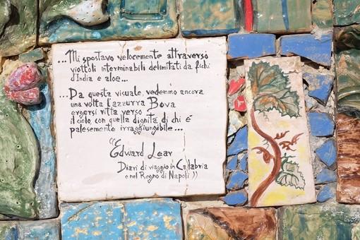 Citazione di Edward Lear (foto Francesca Zagolin)