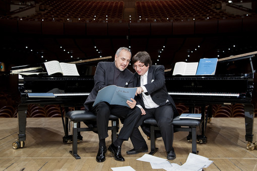 Danilo Rea e Ramin Bahrami, protagonisti del prossimo incontro
