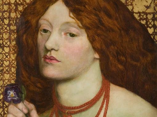 Regina Cordium, nota tela di Dante Gabreil Rossetti, in mostra al Forte di Bard
