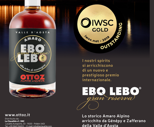 Ebo Lebo vince l'International Wine and Spirit Competition