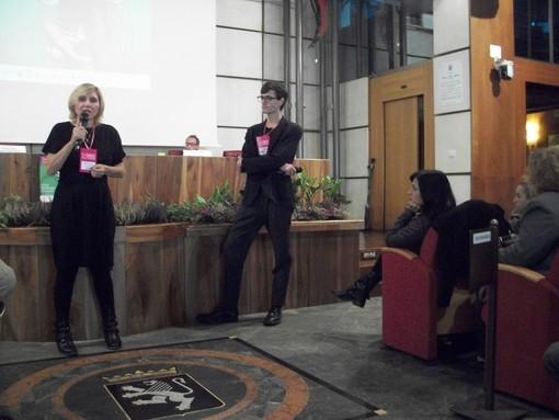 Francesca Fini e Marco Chenevier, direttori artistici del festival