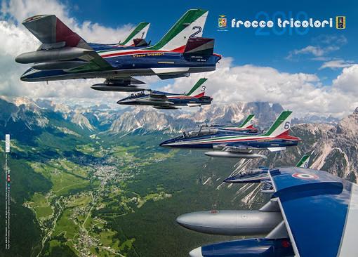 Lunedì 25 maggio le Frecce Tricolore sorvolano Aosta alle 15,15