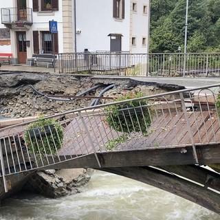 Gaby: Iniziati i lavori per rifacimento ponte strada regionale