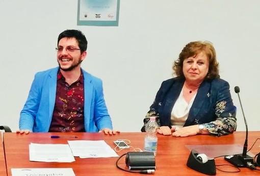 Giulio Gasperin e Patrizia Neri della Rete Antirazzista VdA