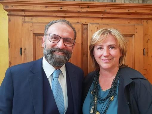 Giovanni Girardini e Roberta Carla Balbis