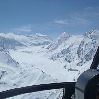 Du glacier Grand Combin la mémoire de l'environnement