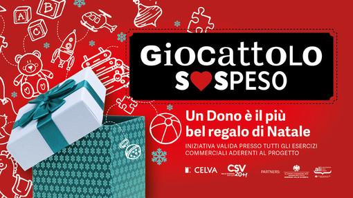 """Al via la campagna di solidarietà per il """"Giocattolo sospeso"""": un Dono è il più bel regalo di Natale"""