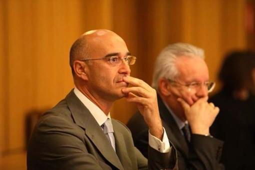 Massimo Lattanzi in primo piano e Cleto Benin