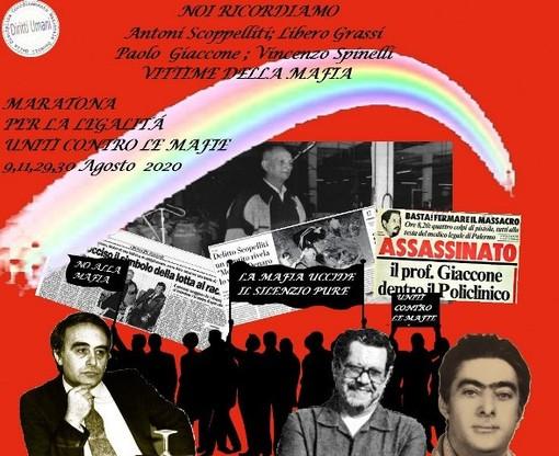 """Maratona digitale per la legalità. Uniti contro le mafie"""""""