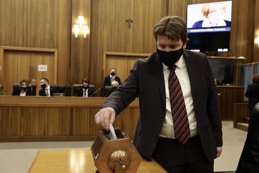 Il Presidente della Giunta regionale, Erik Lavevaz