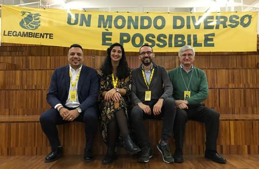 Da sn: Sergio Capelli amministratore, Alice De Marco, direttrice; Giorgio Prino, presidente; Angelo Porta, vicepresidente