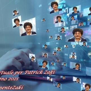 Un'onda virtuale per sostenere e liberare Zaki
