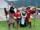 Les Chevaliers de Arpitan da sn: Cubito Mattia, Baravex Manuel, Simonato Marta, Gorret Camillo