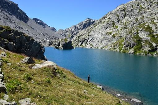 Lago di Bella Comba 2.374 m La Thuile