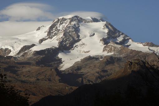 La Piramide Vincent da Alpenzù a Gressoney - Foto Andrea Greci