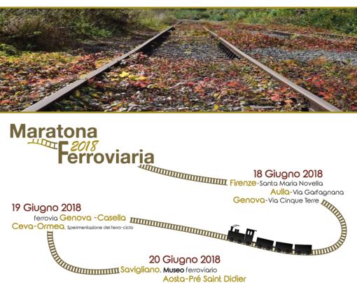 La Maratona Ferroviaria 2018 arriva ad Aosta il 20 giugno