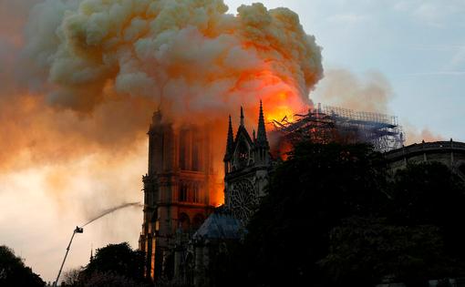Deuil du Savt pour l'incendie de Notre Dame