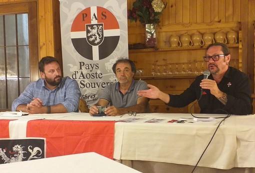 De gauche Philippe Milleret, Claudio Vicari, Christian Sarteur